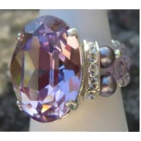 Kit bague grande  Avalon Light Amethyst