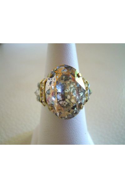 Kit bague grande  Avalon Crystal Rose Patina