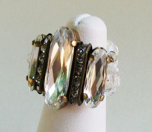 Kit bague Grande Balleny bronze Crystal