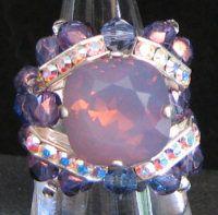 Kit bague Guernesey Cyclamen Opal