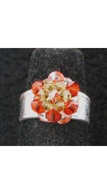 Kit bague Hyacinth sur anneau argent
