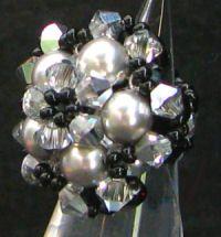 Kit bague Kerguelen Noir & cristal