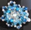 Kit bague Moorea bleu océan