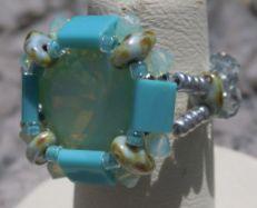 Kit bague Tila Cub Turquoise
