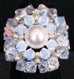 Kit bague Trinity cristalia