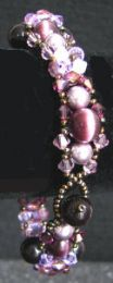 Kit bracelet Comores amethyste
