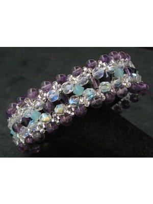 Kit bracelet Latitude Amethyst