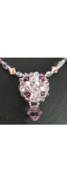 Kit collier Arz Crystal Amethyst