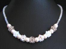Kit collier en boules de perles Cristalia