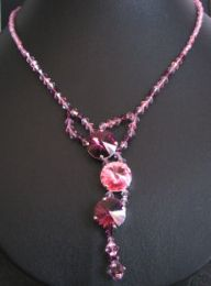 Kit collier Cyclade rose