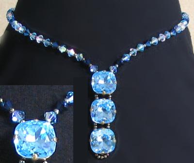 Kit collier Glénan bleu