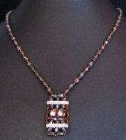 Kit collier Gothica bronze