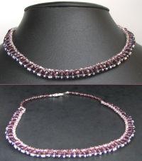 Notice collier Shetland Very Purple