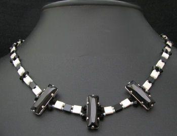 Kit collier Tila Princess Noir & blanc