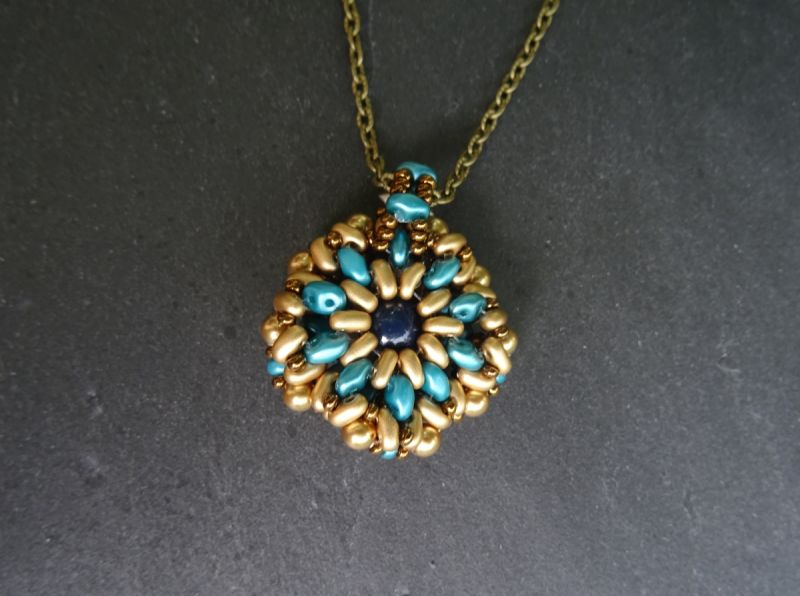 Kit pendentif Diamonduo Bleu