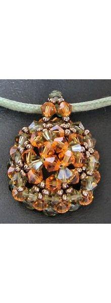 Kit pendentif Grand Mekiro Ambre