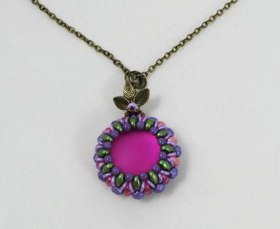 Kit pendentif Queensland Violet fuchsia