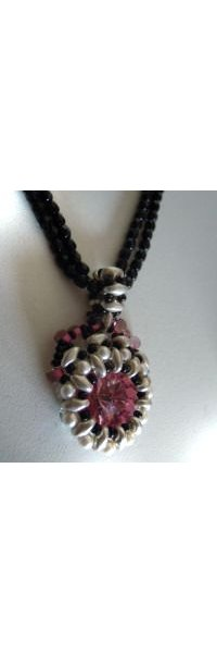 Kit pendentif Victoria rose