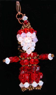 Kit  Père Noël en perles