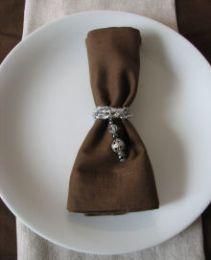 Kit rond de serviette pour Noël