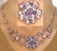 Mauve Oleron necklace instructions