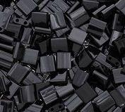 Miyuki Tila 5mm  Black x 25