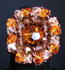 Notice bague Trinity ambre