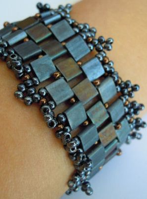 Notice de bracelet Tila frou-frou Ardoise