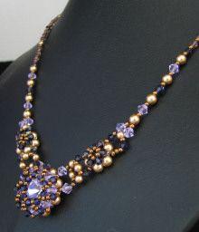Notice du collier Djerba violet