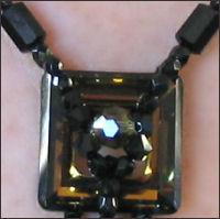 Notice de collier  kanak noir