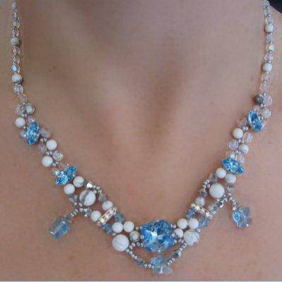 Notice du collier Trielen aquamarine