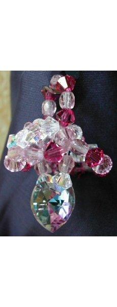 Notice de pendentif petit coeur rose
