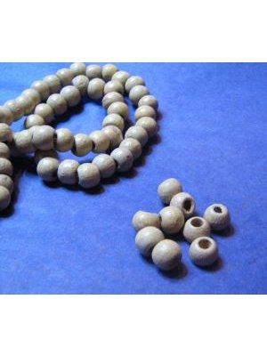 Perle en bois brut 8mm  x 10