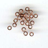 Perles à écraser bronze cuivré x20
