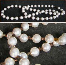 Perles nacrees White 5810 8mm x10