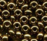 Rocaille 2.3mm bronze doré x7 gr