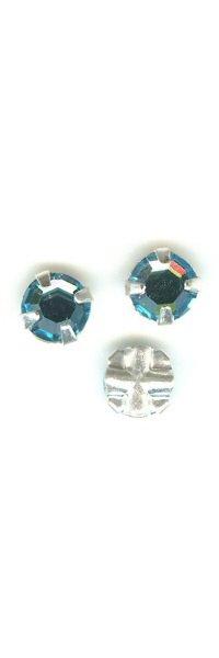 Strass 4 mm Aquamarine x 10