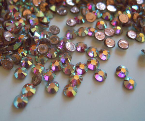 Strass SS10 Crystal Crystal ab hotfix x 12