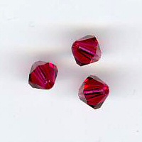 Toupie 4mm ruby x 12