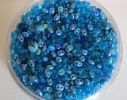 Twin beads Mix Bleu turquoise x 10 gr