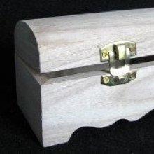 Coffret bois naturel coffre à trésor