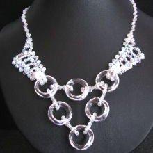 Collier Cérémonie Cosmic ring cristalia