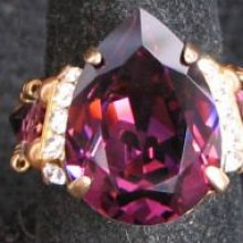 Kit bague Avalon Goutte d'Amethyste