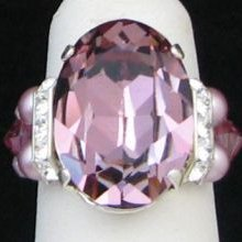 Kit bague grande  Avalon Antique Pink
