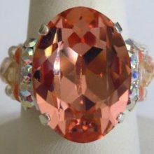 Kit bague grande  Avalon Rose Peach