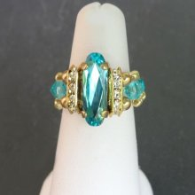 Kit bague Balleny Turquoise