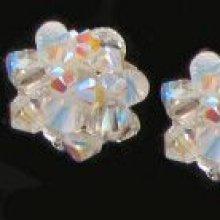 Kit Boucles d'oreilles Boule Cristalia