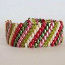 Bracelet Amitié Cerise en kit