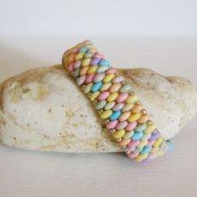 Bracelet Amitié mix Pastel  en kit