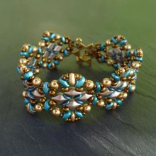 Bracelet Diamonduo Bleu en kit